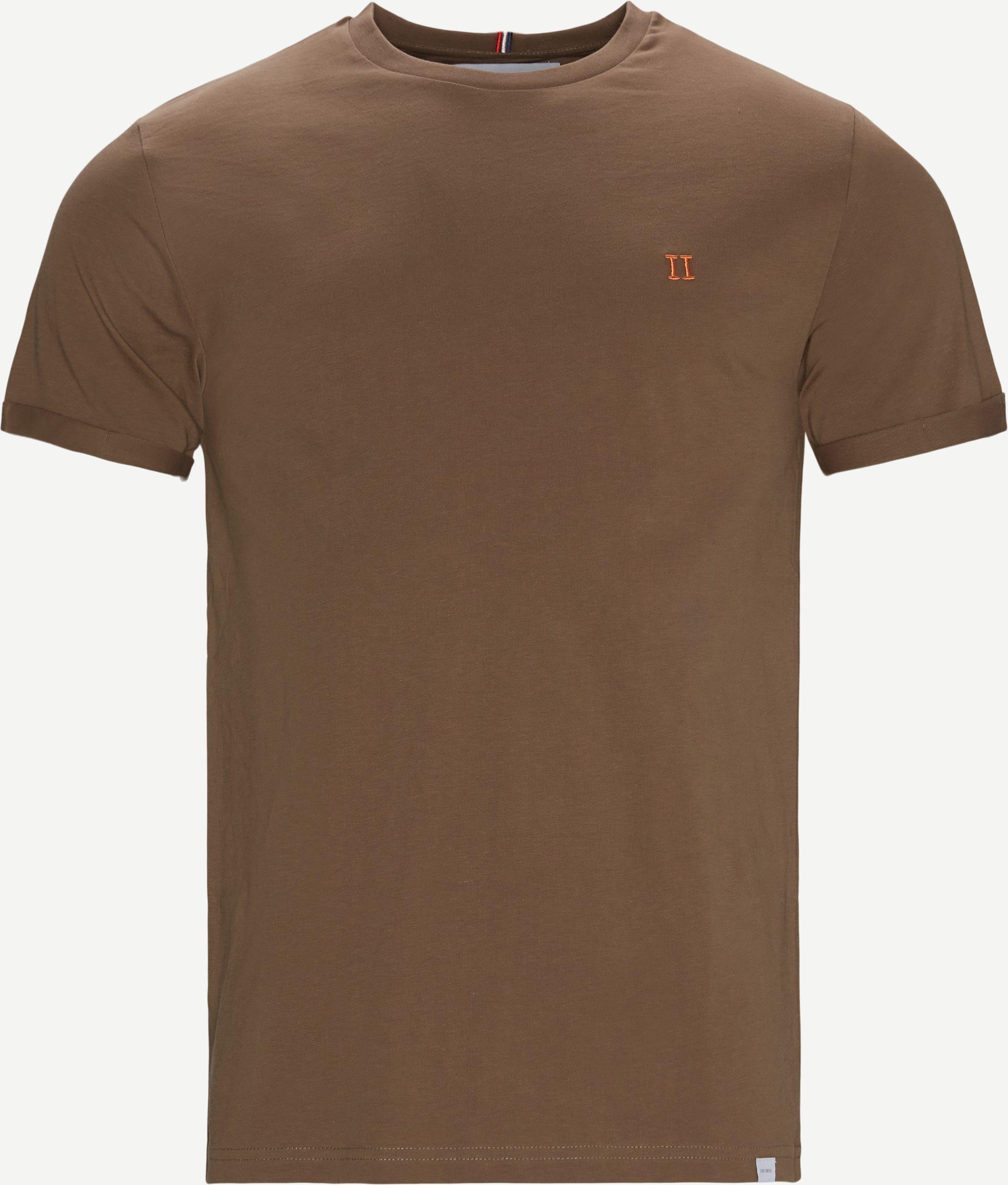 Nørregaard T-shirt - T-shirts - Regular fit - Brun